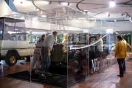 Glasvitrinen MB Ausstellung