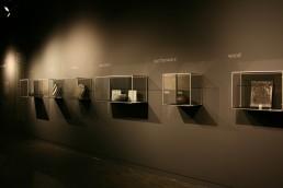 Museumsvitrinen Seoul