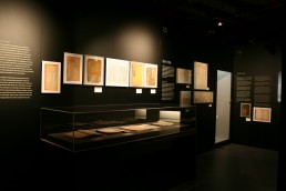 Museumsvitrinen Korea