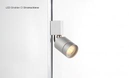LED display cases lighting