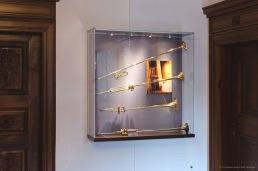 Frank Wandvitrine - Trompetenmuseum Bad Säckingen