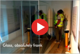 Video : glass, absolutely frank