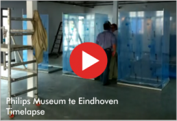 Video : Philips Museum te Eindhoven - Timelapse