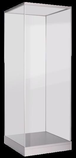 alpha vitrine ansicht links - leichte Installation