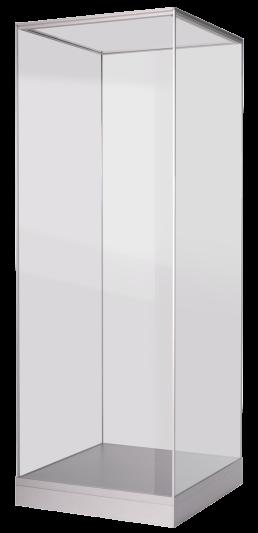 alpha vitrine ansicht rechts - komplett zerlegbar