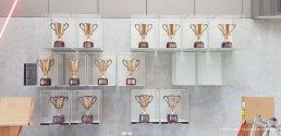 acrylic showcases Premiership